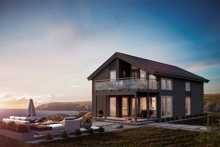 Fåmyrsrøet// Moderne enebolig med 4 soverom med åpen stue- kjøkkenløsning. Loftstue, 2 bad. Gjennomgående høy standard
