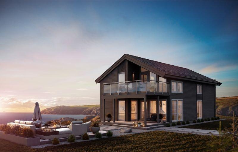 Romeriksåsen // Ny enebolig kommer for salg på nytt boligfelt. Kort vei til flotte turområder.