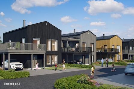Vi er godt igang med salget - Fleksible eneboliger i Grimstads mest populære boligfelt.