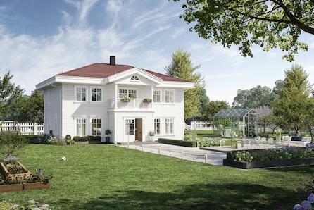 Ramstadåsen, Nannestad // Herskapelig enebolig, 3-5 soverom, 2 bad - mulighet for dobbelgarasje