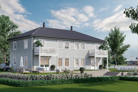 Fåmyrsrøet, Nannestad // Ny tomannsbolig med 3 soverom - tilpass boligen etter dine ønsker. 3 sov - mulighet for garasje