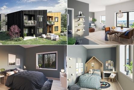 Nannestad, Maura // Flott 3 roms leilighet med meget god standard - garasjeplass - ingen forhåndsbetaling!