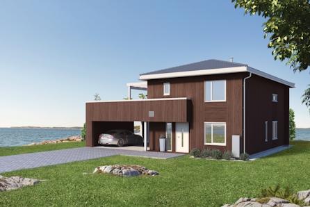 Nannestad // Fåmyrsrøet - Prosjektert enebolig i naturskjønne omgivelser-  4 sov / walk-in garderobe / 2 bad / carport