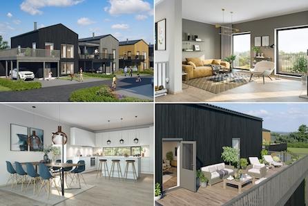 Moderne og fleksible eneboliger i Grimstads mest populære boligfelt. 8 solgt!